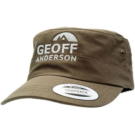 CASQUETTE HOMME GEOFF ANDERSON MILITARY COTTON - OLIVE