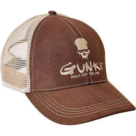 CASQUETTE HOMME GUNKI TRUCKER BROWN - MARRON