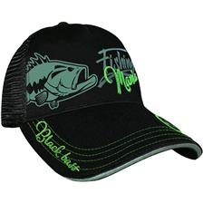 CAP BLACK BASS MANIA NOIR 010101599