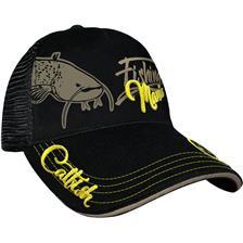 CASQUETTE HOMME HOT SPOT DESIGN CAP CATFISH MANIA - NOIR