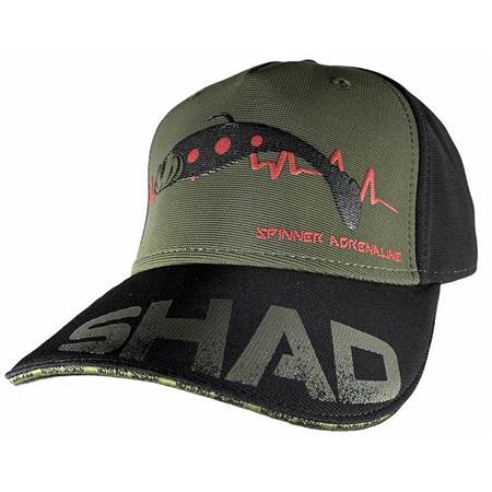 CASQUETTE HOMME HOT SPOT DESIGN CAP SHAD - NOIR/OLIVE