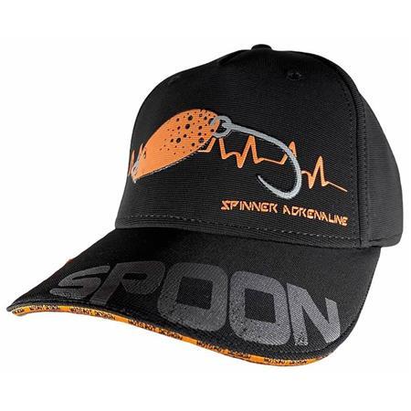 CASQUETTE HOMME HOT SPOT DESIGN CAP SPOON - NOIR