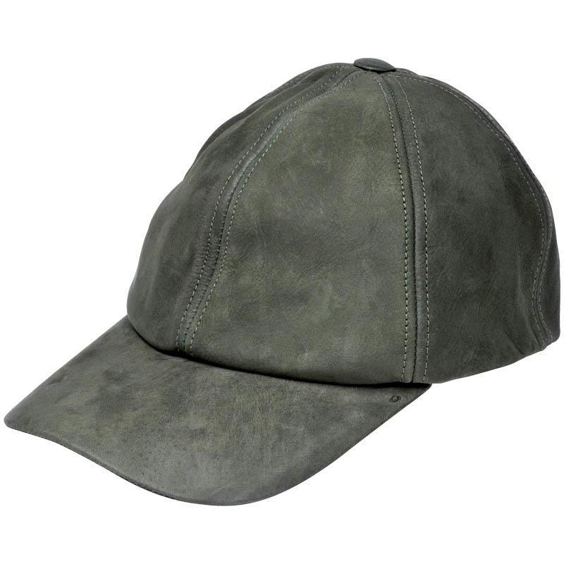 41e51f4d4ef13 Casquette homme januel reglable cuir - vert