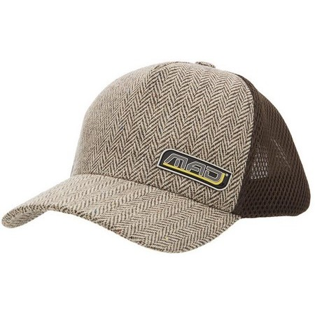 CASQUETTE HOMME MAD LODGE - MARRON