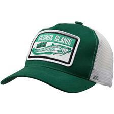 Apparel Mad Cat SILURUS GLANIS CAP VERT/BLANC 60144