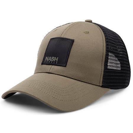 CASQUETTE HOMME NASH TRUCKER CAP - KAKI