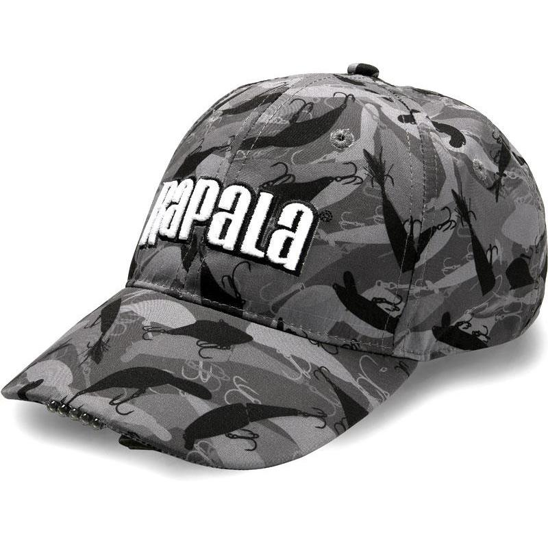 CASQUETTE HOMME RAPALA A LED - CAMOU - RA6800526