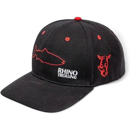 CASQUETTE HOMME RHINO TROLLING CAP - NOIR/ROUGE