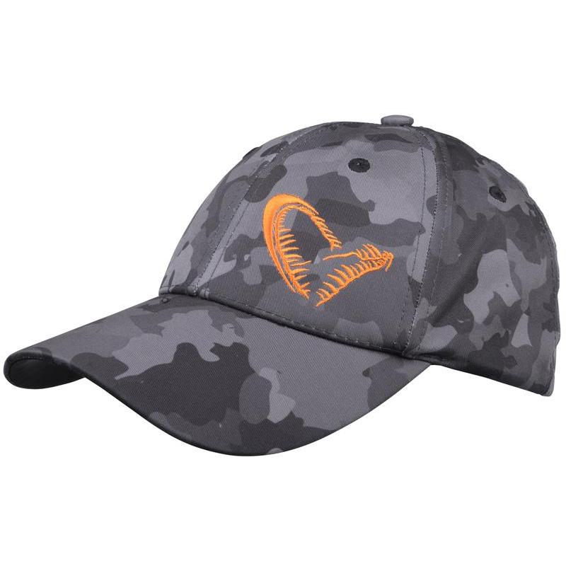CASQUETTE HOMME SAVAGE GEAR BLACK SAVAGE CAP - CAMOU GRIS - 50837