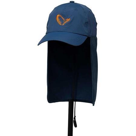 CASQUETTE HOMME SAVAGE GEAR SALT UV CAP - BLEU
