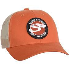 S MESH CAP ORANGE 54615