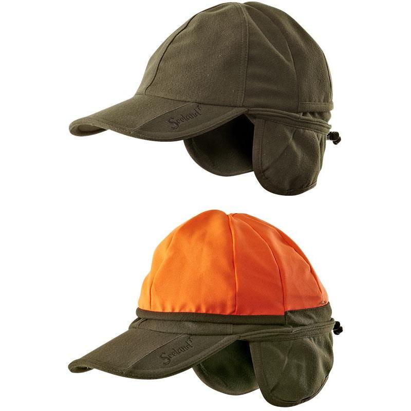 casquette homme seeland eton reversible vert orange. Black Bedroom Furniture Sets. Home Design Ideas