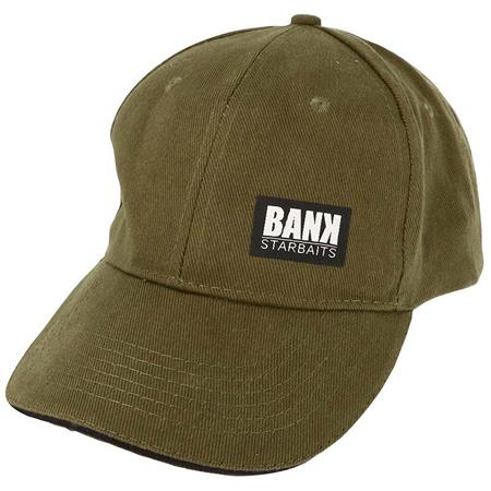 CASQUETTE HOMME STARBAITS BANK 5 PANELS CAP - OLIVE