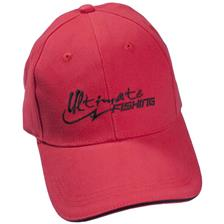 CASQUETTE HOMME ULTIMATE FISHING - ROUGE