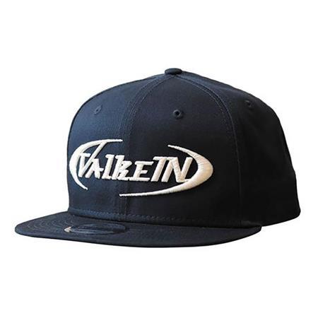 CASQUETTE HOMME VALKEIN FLAT CAP - BLEU/BLANC