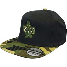CAMOUFLAGE SNAPBACK CAP CAMOU/NOIR VB6 91