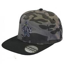 CASQUETTE HOMME VASS CAMOUFLAGE SNAPBACK CAP - CAMOU/NOIR
