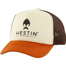 CASQUETTE HOMME WESTIN TEXAS TRUCKER CAP - BEIGE/ORANGE