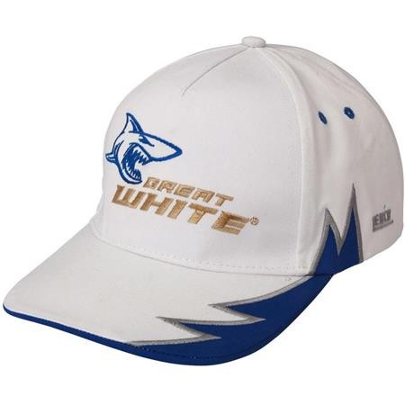 CASQUETTE HOMME ZEBCO GREAT WHITE - BLANC