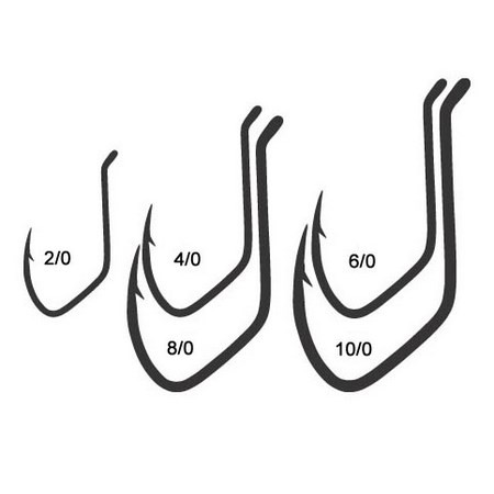 CATFISH HOOK MUSTAD POWERCAT 412BLN
