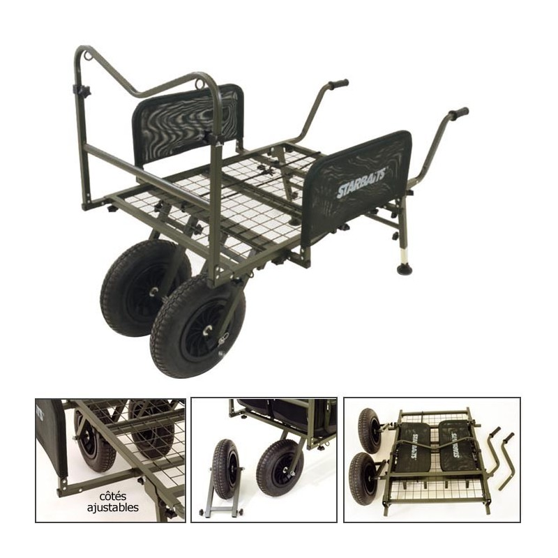 chariot starbaits barrow xl. Black Bedroom Furniture Sets. Home Design Ideas