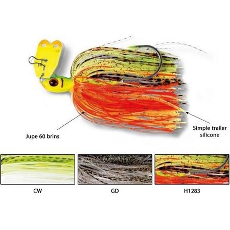 CHATTERBAIT FLASHMER ZUMB R BAIT 10CM - 3.5G - PAR 3