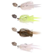 Lures Savage Gear CRAZY BLADE JIGS 14G SHAD SILVER GOLD