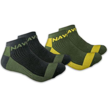 CHAUSSETTES HOMME NAVITAS COOLMAX ANKLE SOCK TWIN PACK