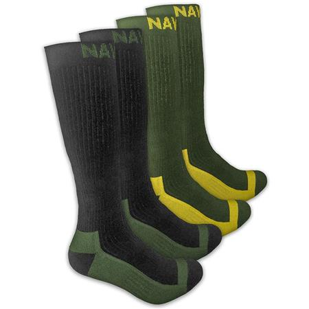CHAUSSETTES HOMME NAVITAS COOLMAX BOOT SOCK TWIN PACK