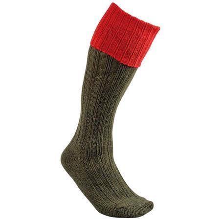 chaussettes longues homme club interchasse natun long rouge. Black Bedroom Furniture Sets. Home Design Ideas
