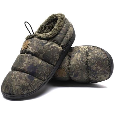 CHAUSSONS HOMME NASH CAMO DELUXE BIVVY SLIPPERS - CAMOU