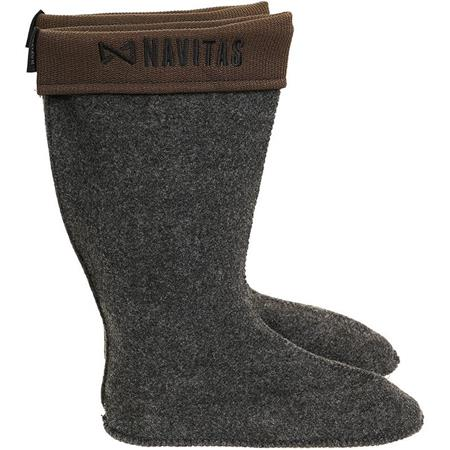 CHAUSSONS POUR BOTTES HOMME NAVITAS LITE INSULATED WELLY BOOT LINERS - GRIS