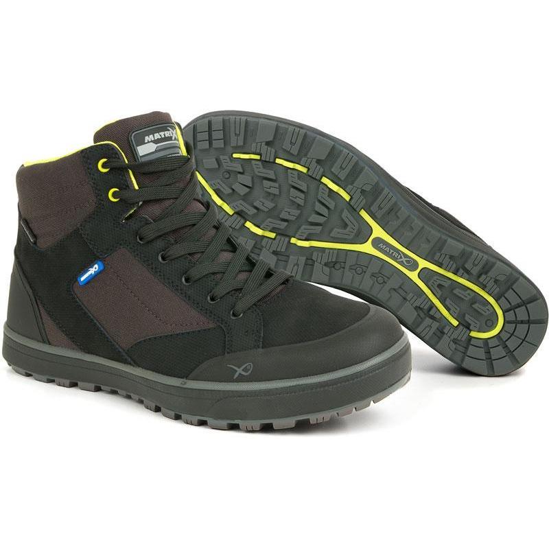 Matrix Boots Homme Chaussures Fox Waterproof Mid Noir 5jLAR34q
