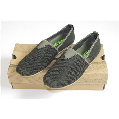 CHAUSSURES HOMME KORDA KORE SLIP ONS OLIVE - 41 OCCASION