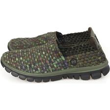 Apparel Navitas WEAVE SLIP ON TRAINER CAMO 47