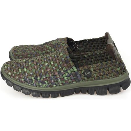 CHAUSSURES HOMME NAVITAS WEAVE SLIP ON TRAINER - CAMO