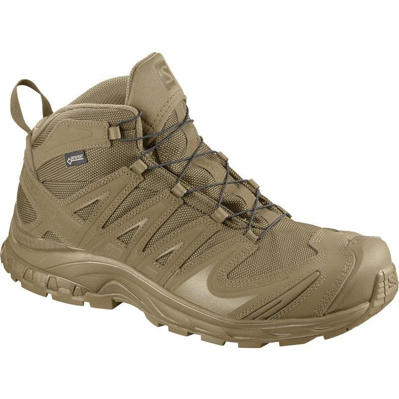 Forces Gtx Salomon Chaussures Coyote Homme Xa Mid HE29eWDIY