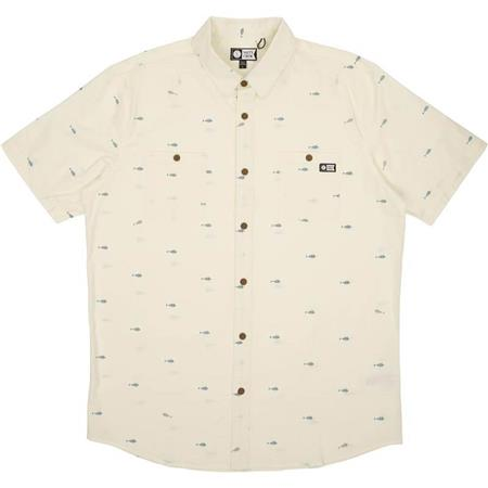 CHEMISE MANCHES COURTES HOMME SALTY CREW PROVISIONS S/S WOVEN - BEIGE