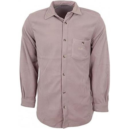 CHEMISE MANCHES LONGUES HOMME BARTAVEL PORTLAND POLAIRE - TAUPE