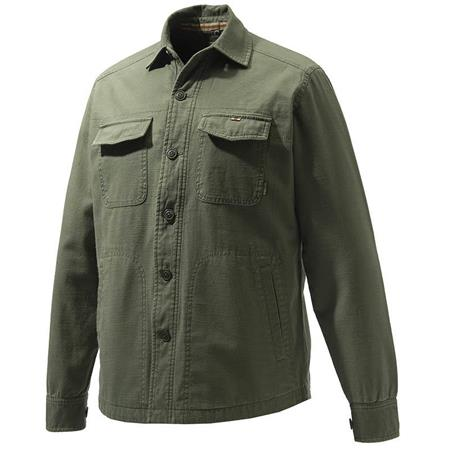CHEMISE MANCHES LONGUES HOMME BERETTA HEAVY OVERSHIRT - VERT