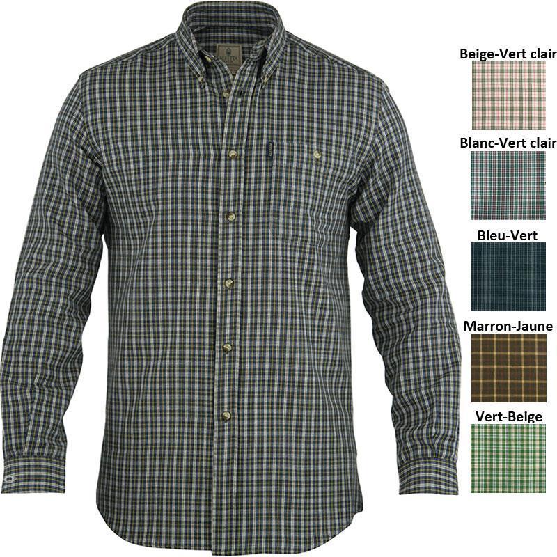 chemise manches longues homme beretta sport classic a carreaux. Black Bedroom Furniture Sets. Home Design Ideas