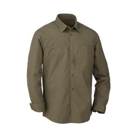 CHEMISE MANCHES LONGUES HOMME BLASER TWILL SHIRT MODERN FIT MEN - OLIVE
