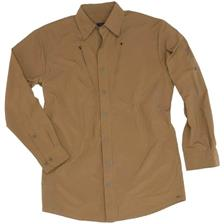 CHEMISE MANCHES LONGUES HOMME BROWNING SAVANNAH RIPSTOP - KAKI