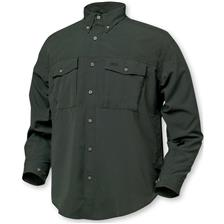 CHEMISE MANCHES LONGUES HOMME GEOFF ANDERSON POLYBRUSH - OLIVE
