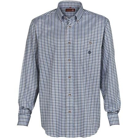 CHEMISE MANCHES LONGUES HOMME IDAHO COUNTRY - BLEU