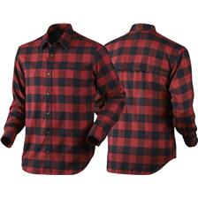 CHEMISE MANCHES LONGUES HOMME SEELAND REDWOOD - ROUGE