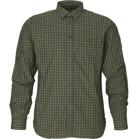 CHEMISE MANCHES LONGUES HOMME SEELAND WARWICK - CARREAUX VERT