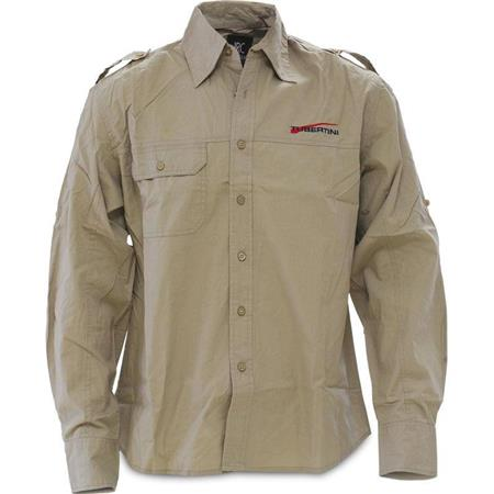 CHEMISE MANCHES LONGUES HOMME TUBERTINI MELBOURNE - BEIGE