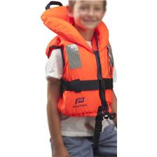 CHILDREN'S LIFEJACKET TYPHOON ORANGE NO PATTERN PLASTIMO TYPHON