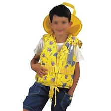 CHILDREN'S LIFEJACKET TYPHOON YELLOW IGLOO PATTERN PLASTIMO TYPHON